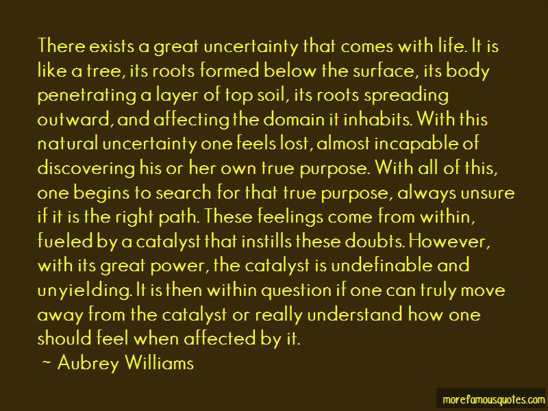 Aubrey Williams Quotes