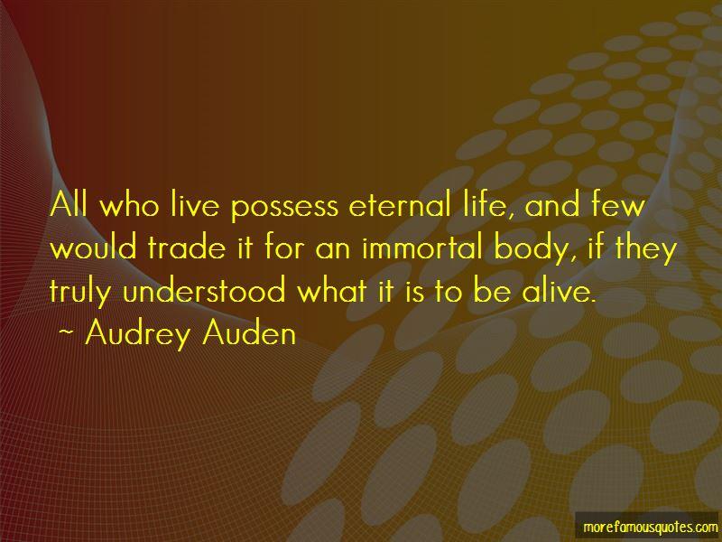 Audrey Auden Quotes