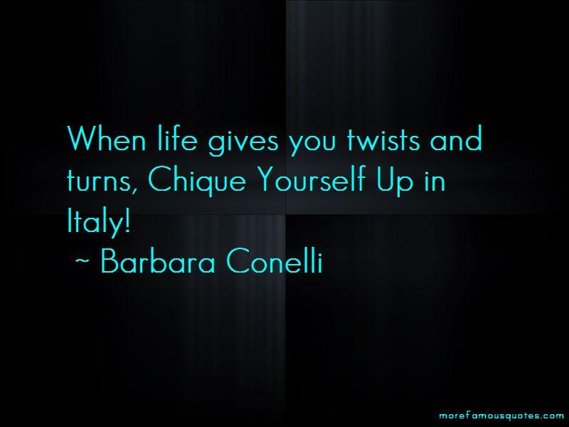 Barbara Conelli Quotes