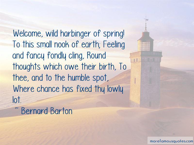 Bernard Barton Quotes Pictures 2