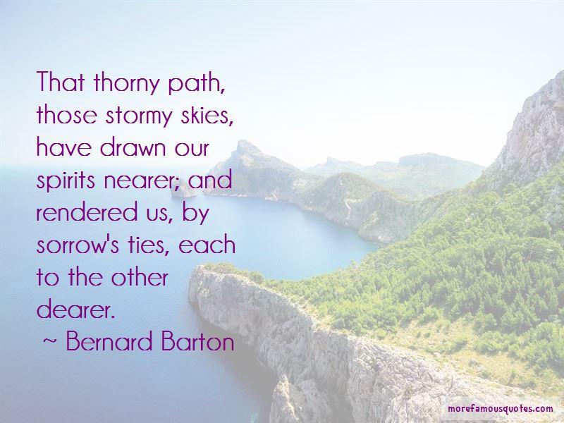 Bernard Barton Quotes