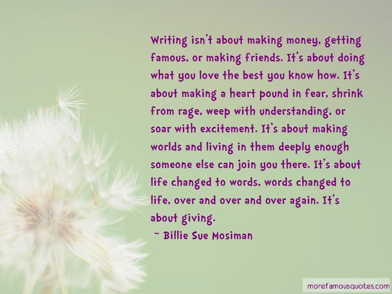 Billie Sue Mosiman Quotes