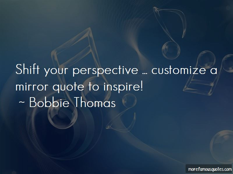 Bobbie Thomas Quotes