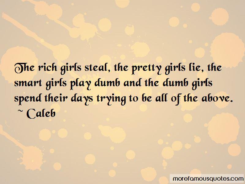 Caleb Quotes
