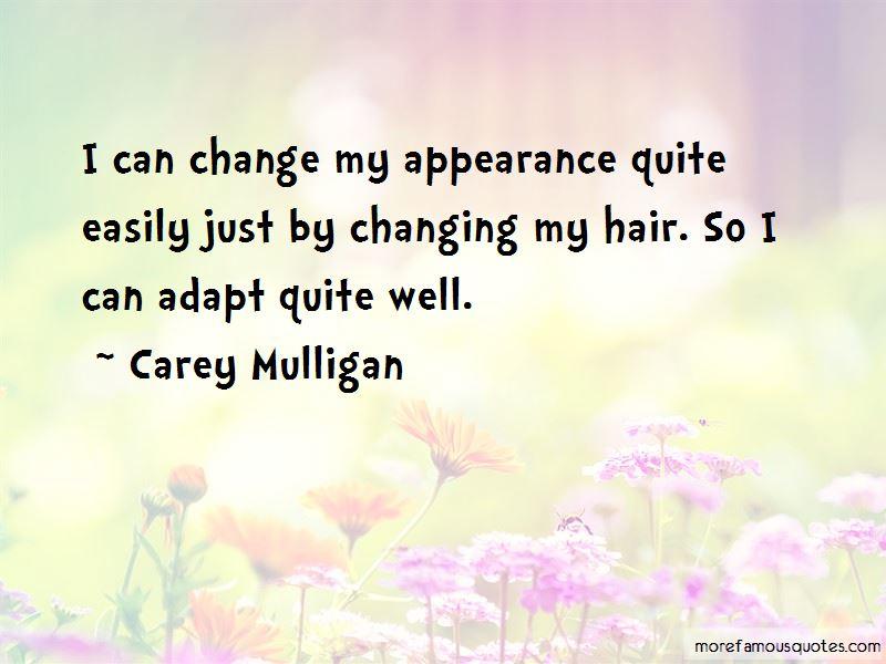 Carey Mulligan Quotes