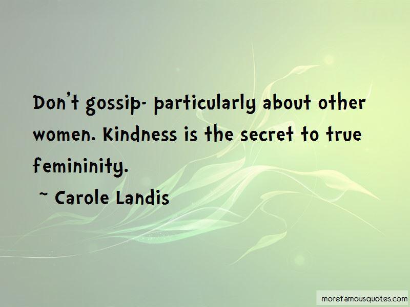 Carole Landis Quotes Pictures 4
