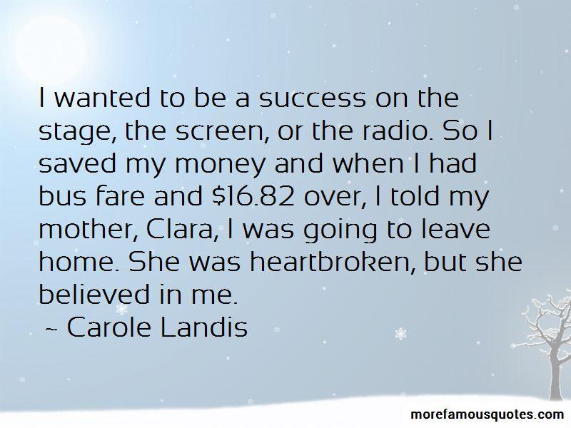 Carole Landis Quotes