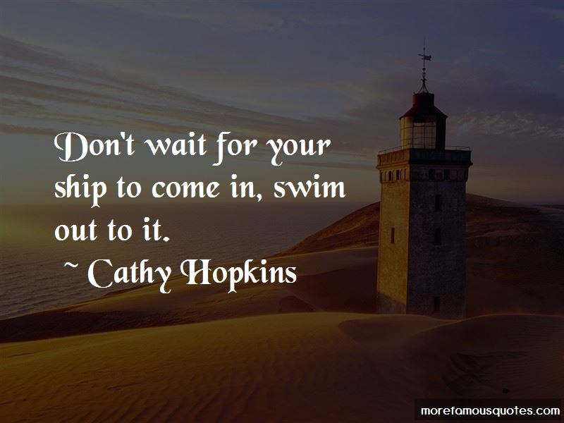 Cathy Hopkins Quotes