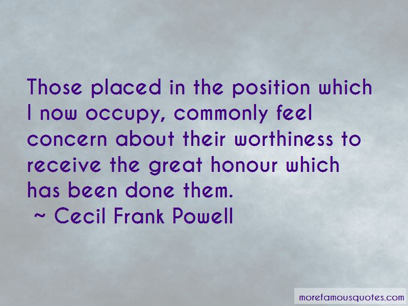 Cecil Frank Powell Quotes