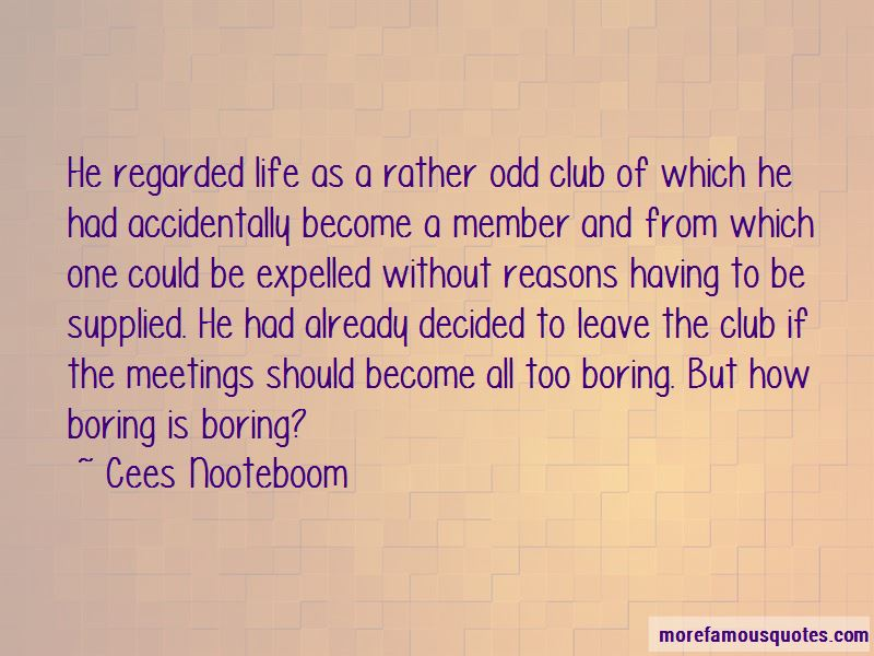 Cees Nooteboom Quotes Pictures 3