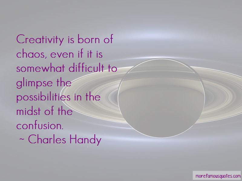Charles Handy Quotes Pictures 2