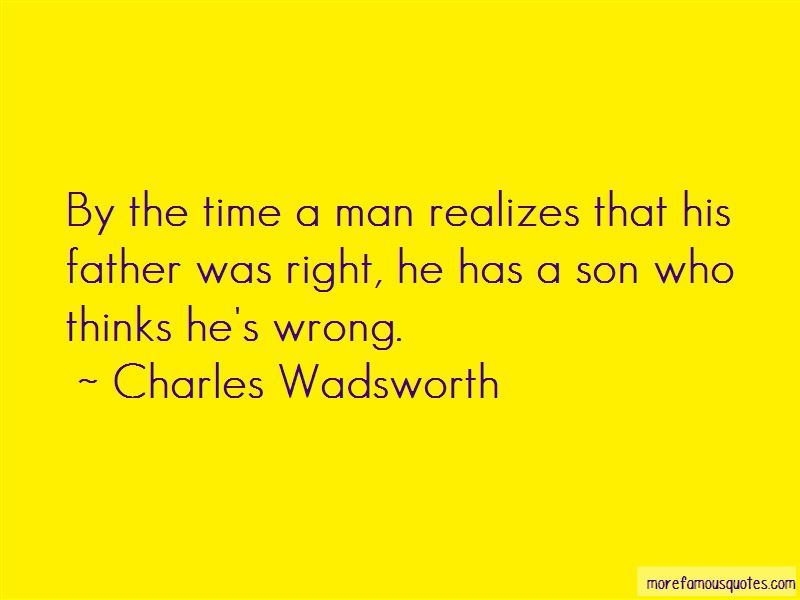 Charles Wadsworth Quotes