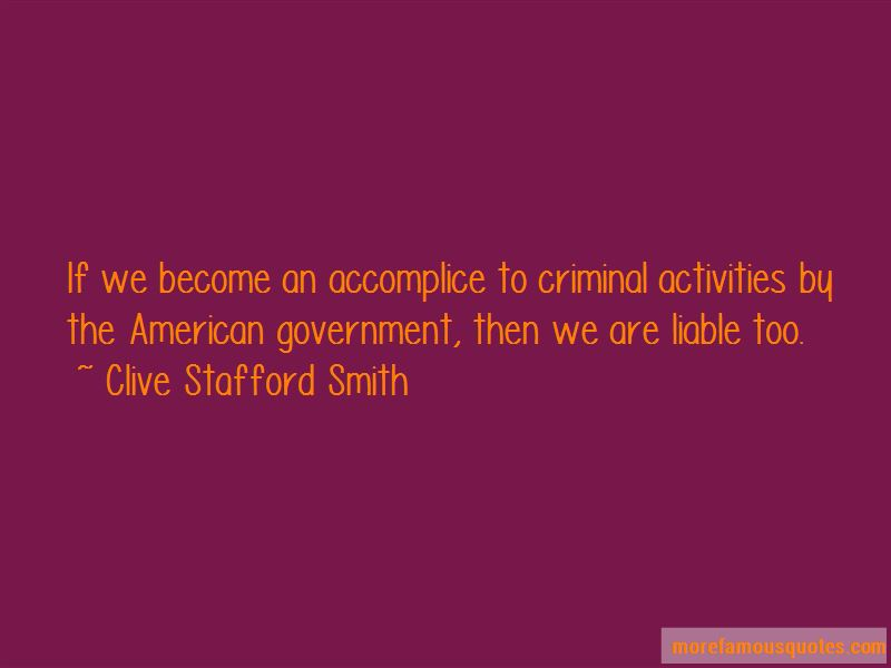 Clive Stafford Smith Quotes
