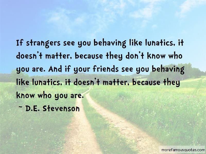 D.E. Stevenson Quotes Pictures 2