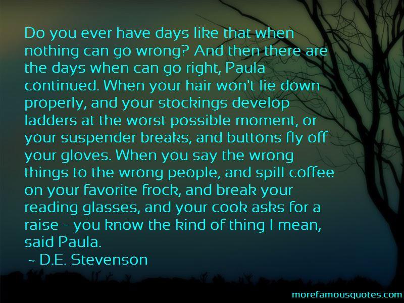 D.E. Stevenson Quotes