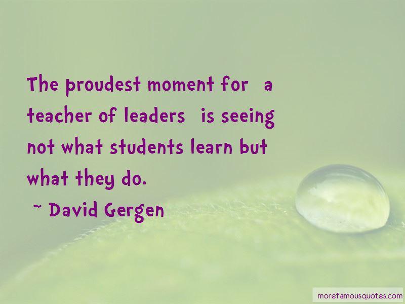 David Gergen Quotes