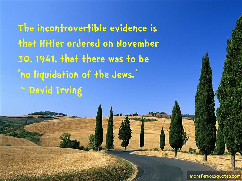 David Irving Quotes