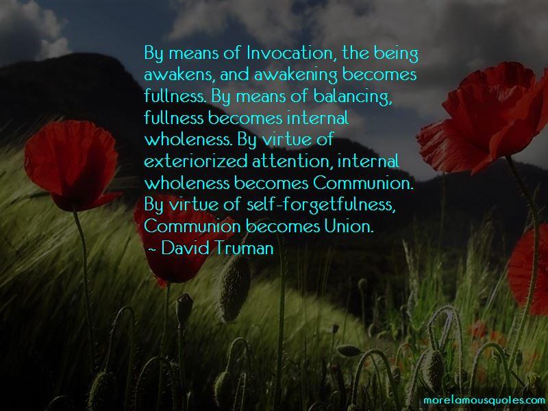 David Truman Quotes