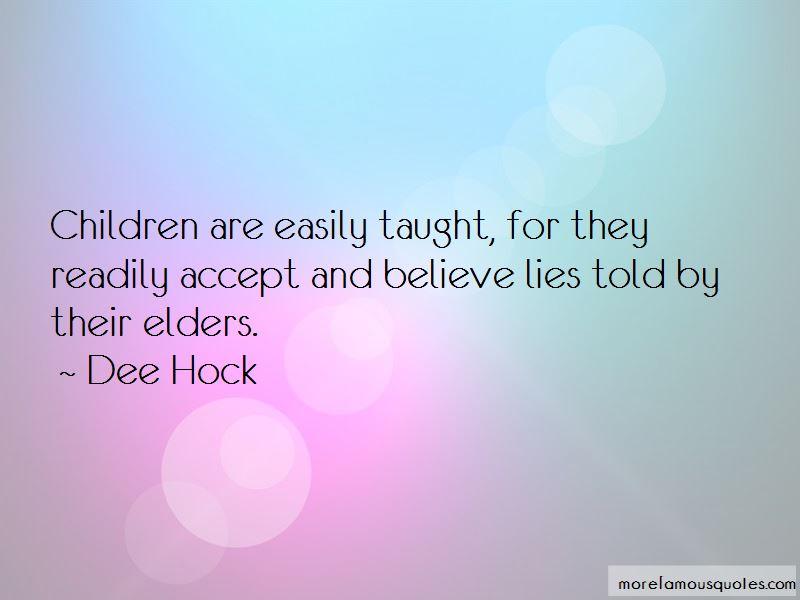 Dee Hock Quotes