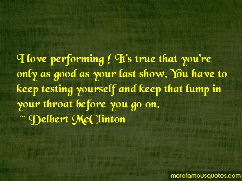 Delbert McClinton Quotes