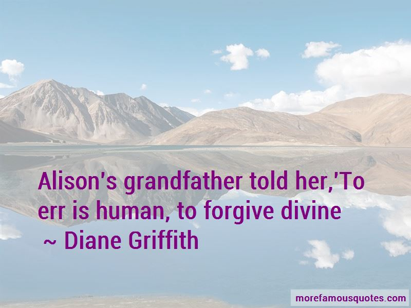 Diane Griffith Quotes