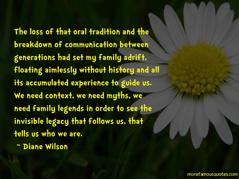 Diane Wilson Quotes