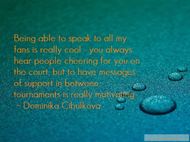 Dominika Cibulkova Quotes Pictures 4