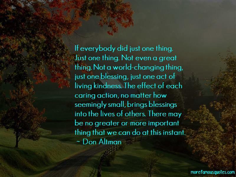 Don Altman Quotes