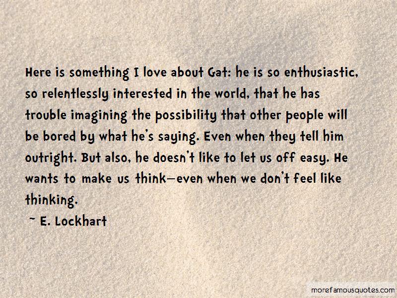 E. Lockhart Quotes Pictures 2