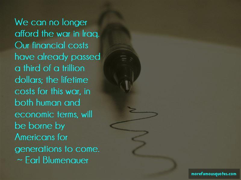 Earl Blumenauer Quotes