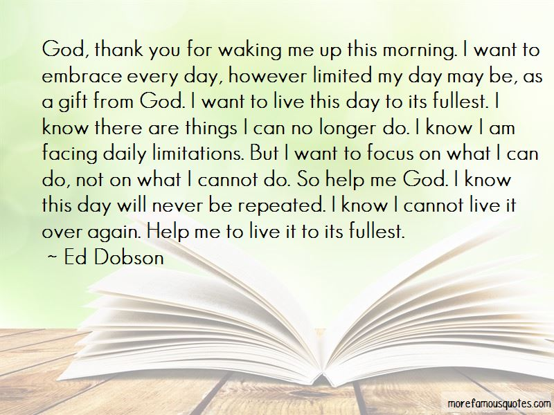 Ed Dobson Quotes