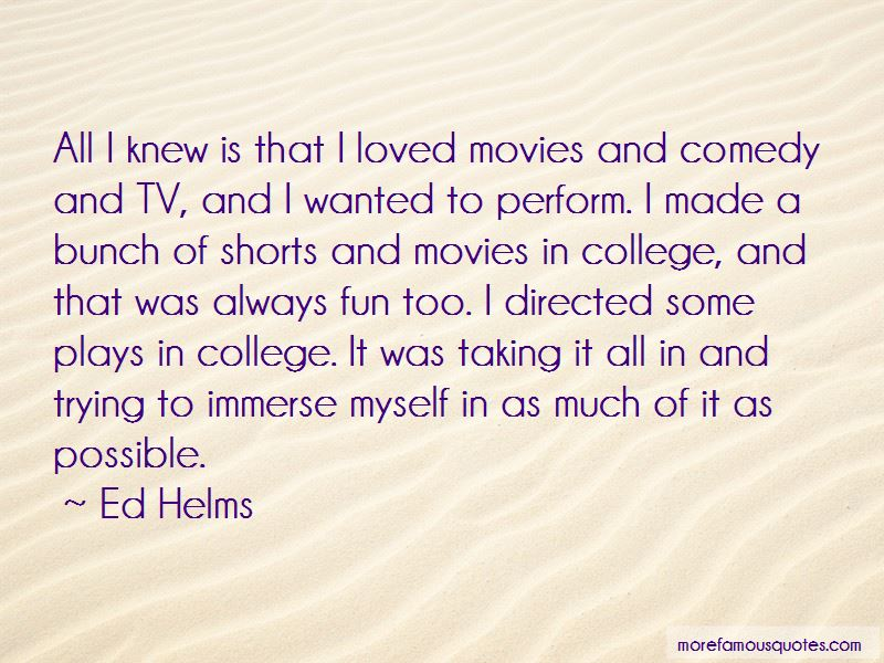 Ed Helms Quotes Pictures 4