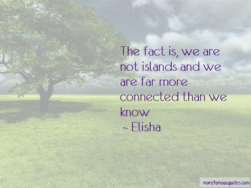 Elisha Quotes