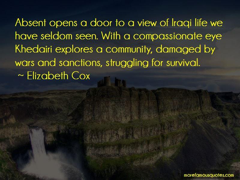 Elizabeth Cox Quotes