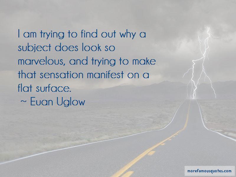 Euan Uglow Quotes