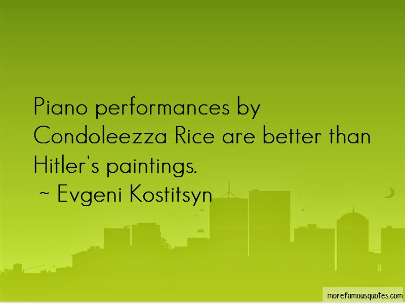 Evgeni Kostitsyn Quotes