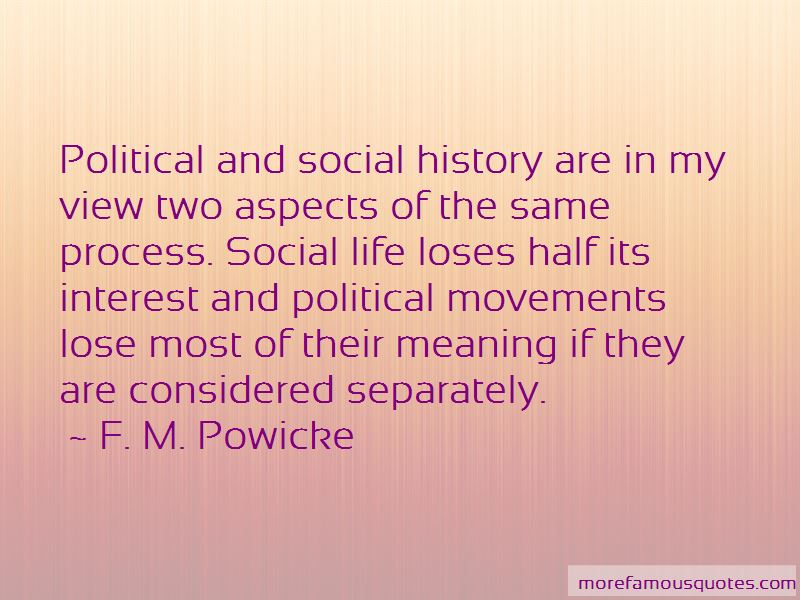 F. M. Powicke Quotes Pictures 3