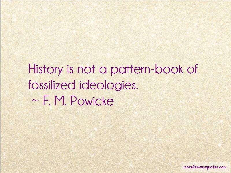 F. M. Powicke Quotes