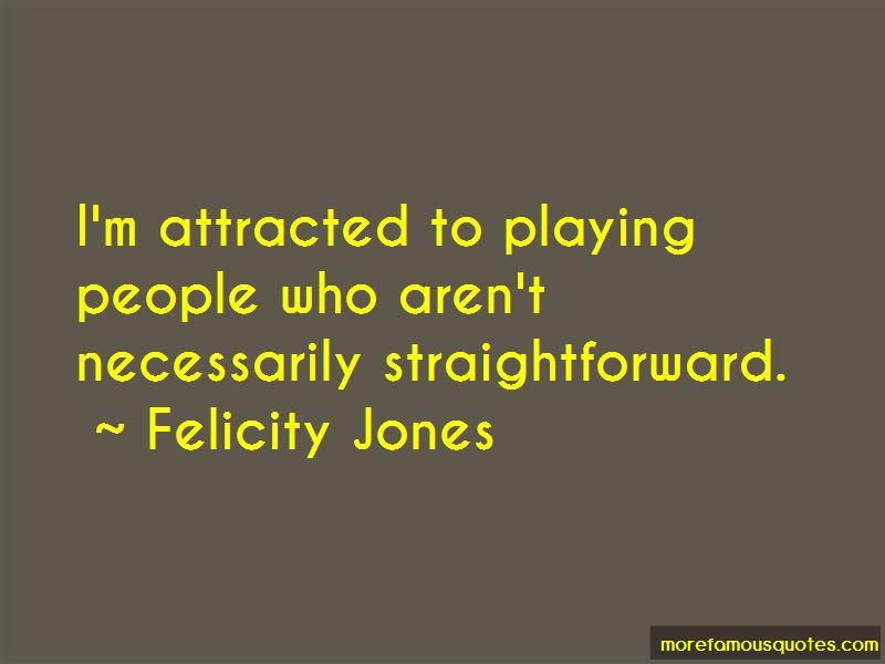 Felicity Jones Quotes Pictures 3
