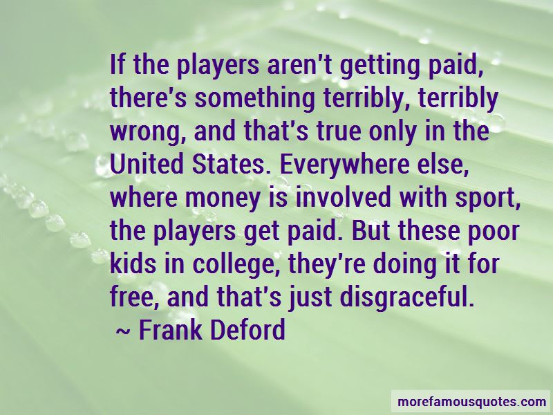 Frank Deford Quotes Pictures 2