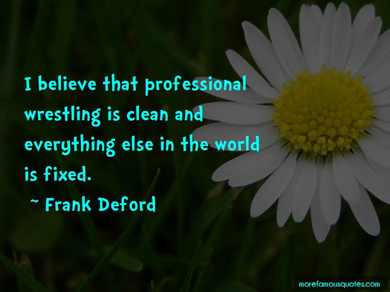 Frank Deford Quotes Pictures 4