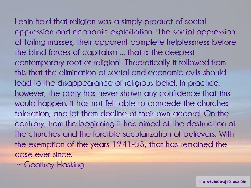Geoffrey Hosking Quotes