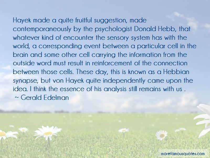Gerald Edelman Quotes Pictures 2