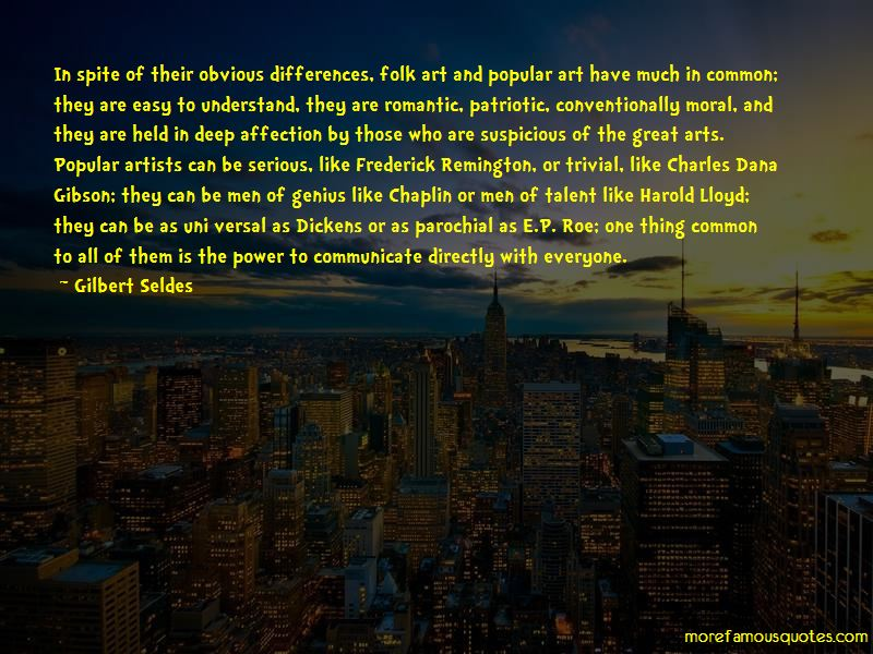 Gilbert Seldes Quotes Pictures 2