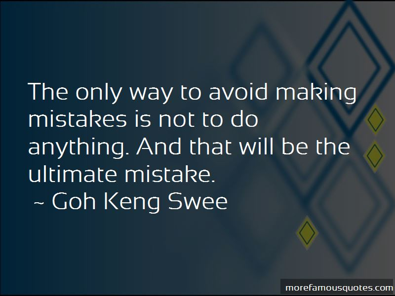 Goh Keng Swee Quotes