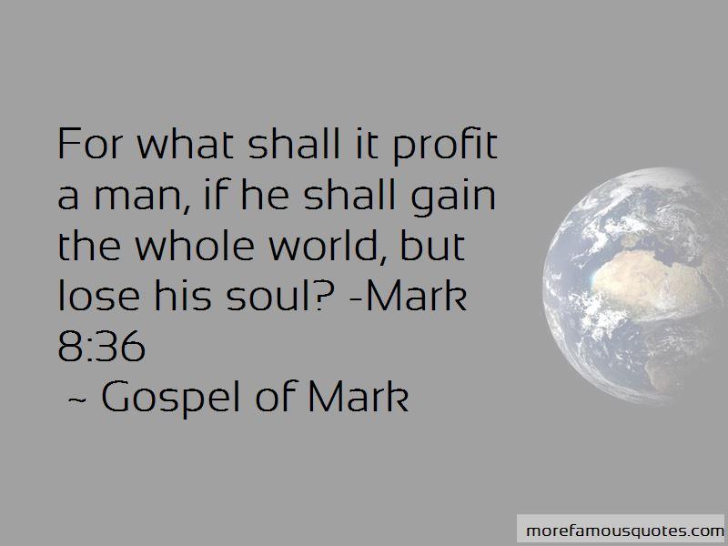 Gospel Of Mark Quotes