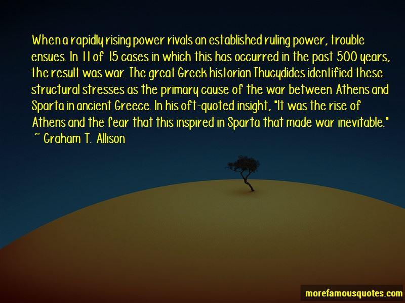Graham T. Allison Quotes Pictures 2