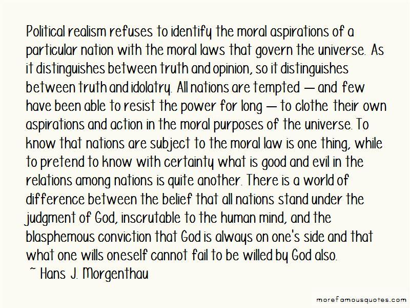 Hans J. Morgenthau Quotes Pictures 2