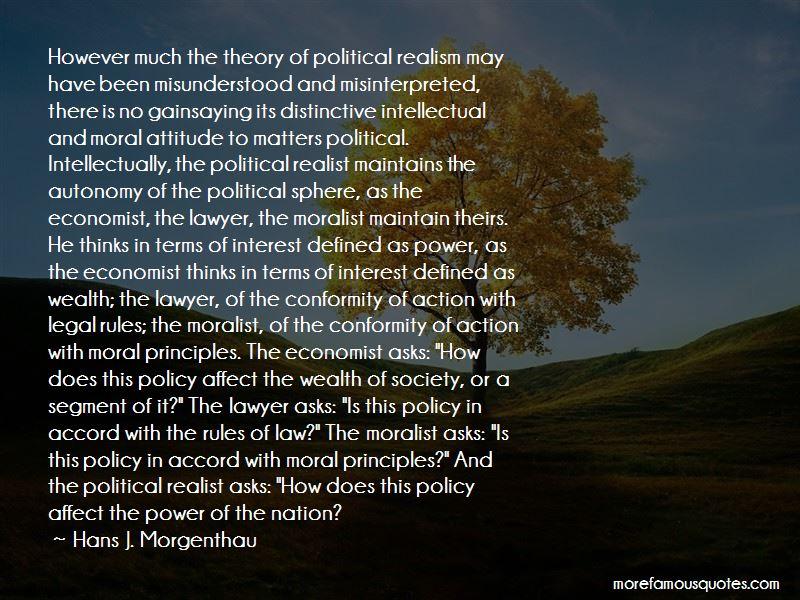 Hans J. Morgenthau Quotes Pictures 3