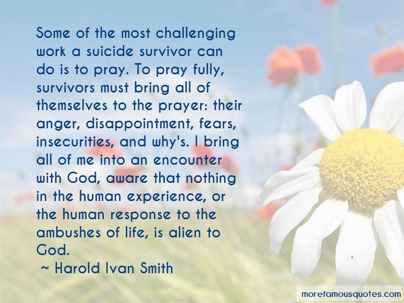 Harold Ivan Smith Quotes